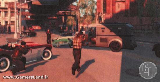 обстрел полицейского фургона - -