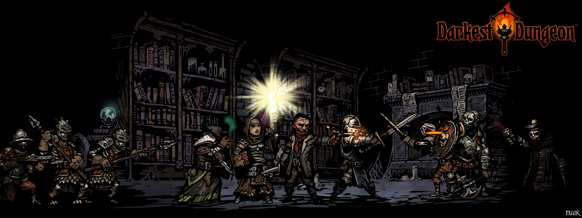 1445357795_Darkest Dungion WallPaper Library1920x720 (logo) STEAM.jpg - Darkest Dungeon