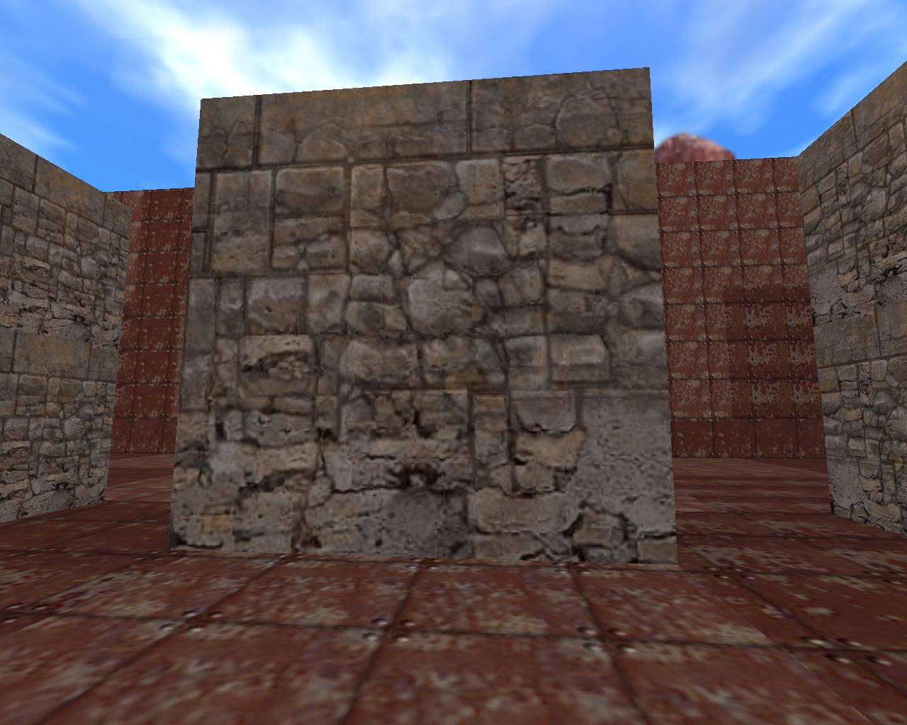 Тест разрешения текстуры (240*240) - Half-Life
