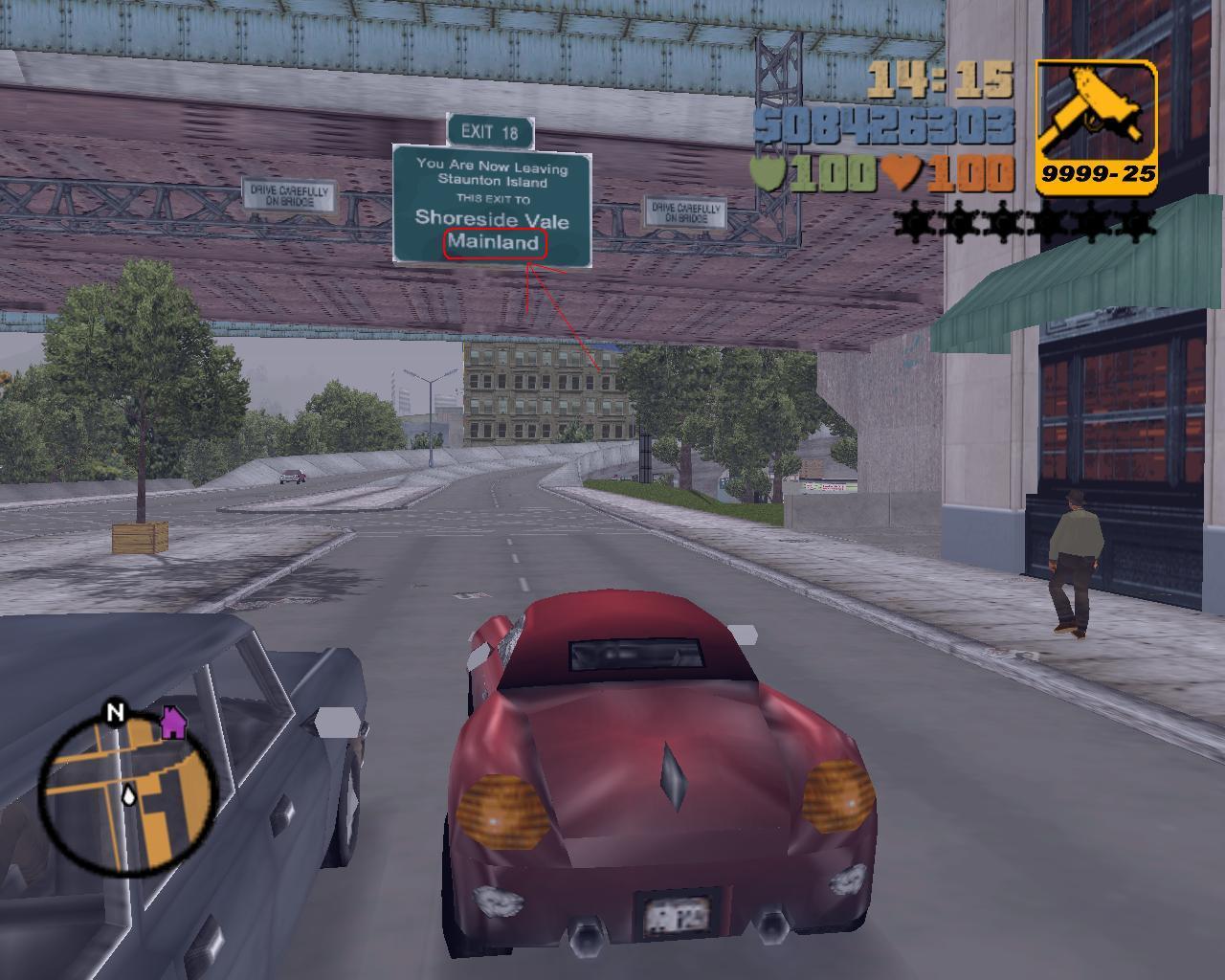 Mainland - Grand Theft Auto 3