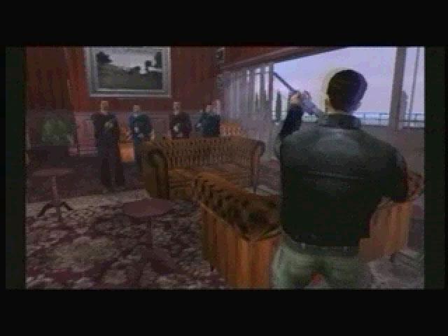 Якудза и Клод - Grand Theft Auto 3