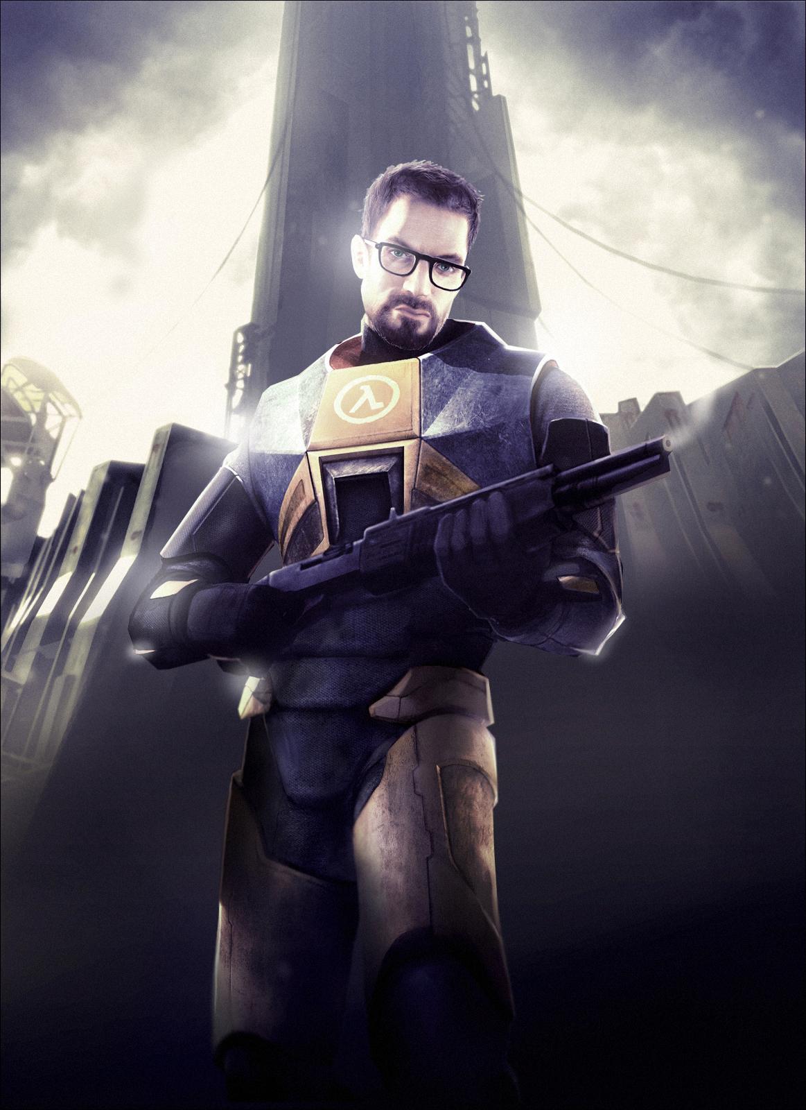 Гордон Фримен - Half-Life 2 Гордон Фримен