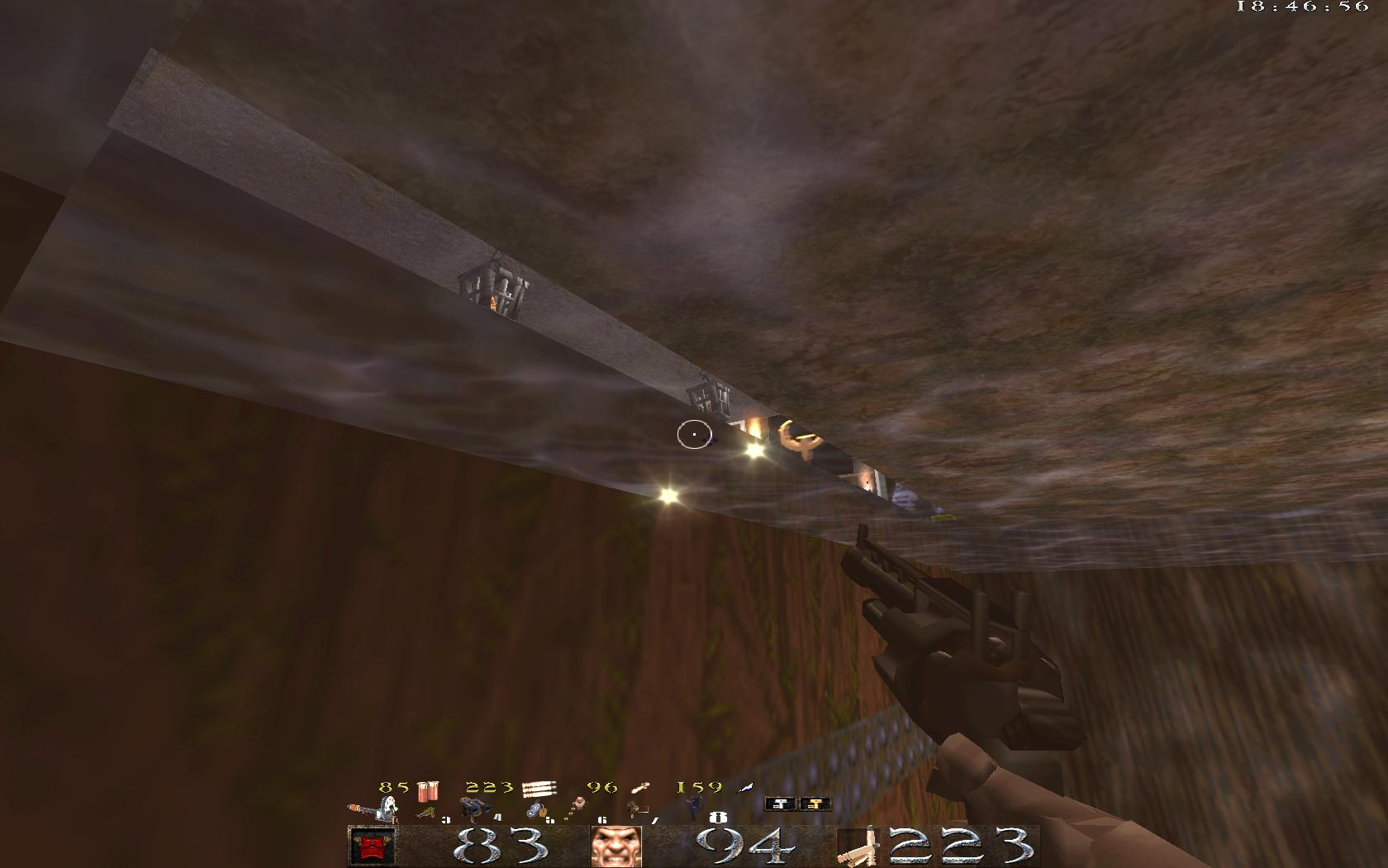 Quake Mountain addon for Quake 1 (qrack port) - видно секрет - Quake Мод
