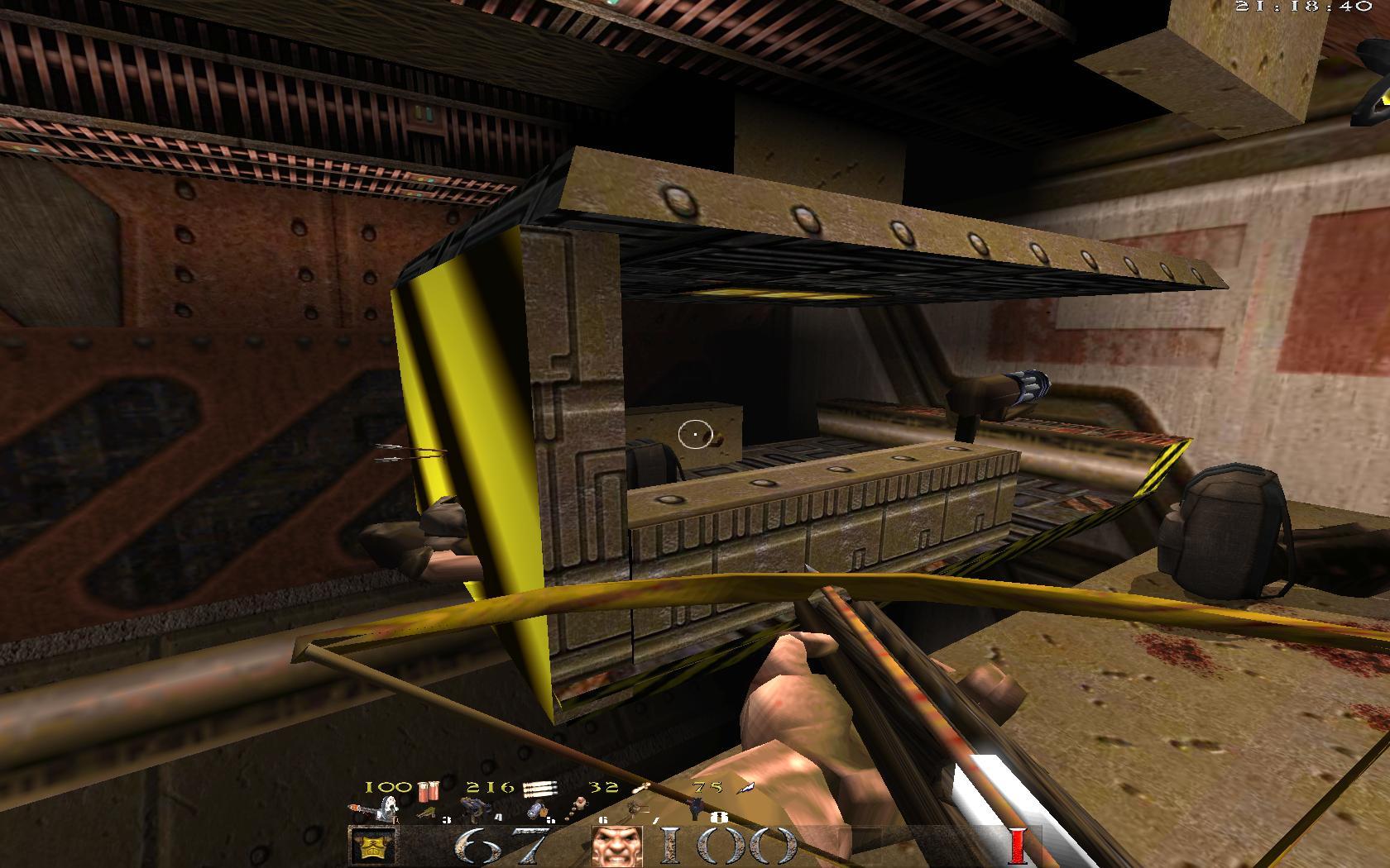 Quake Mountain addon for Quake 1 (qrack port) - стрелы убивают сквозь стену :) - Quake Мод
