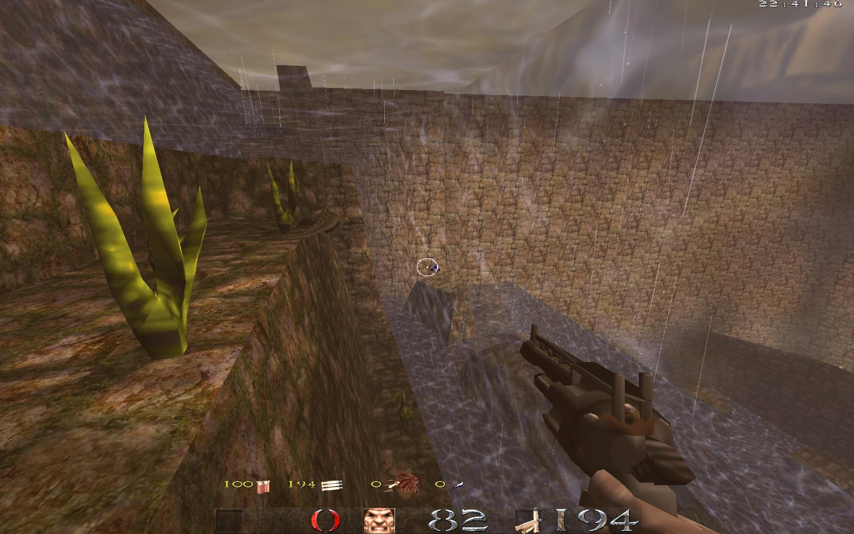 Quake Mountain addon for Quake 1 (qrack port) - вот это выглядит тупо и неестественно - Quake Мод