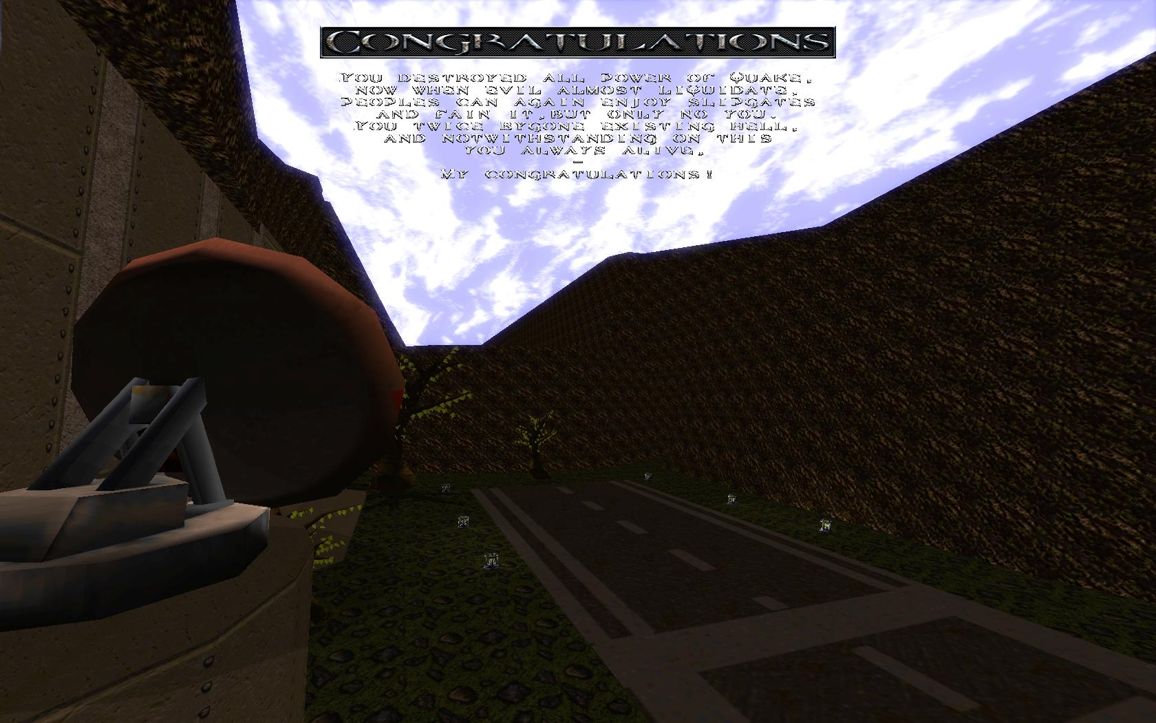 Quake Mountain addon for Quake 1 (qrack port) - знание английского на 2 )) - Quake Мод