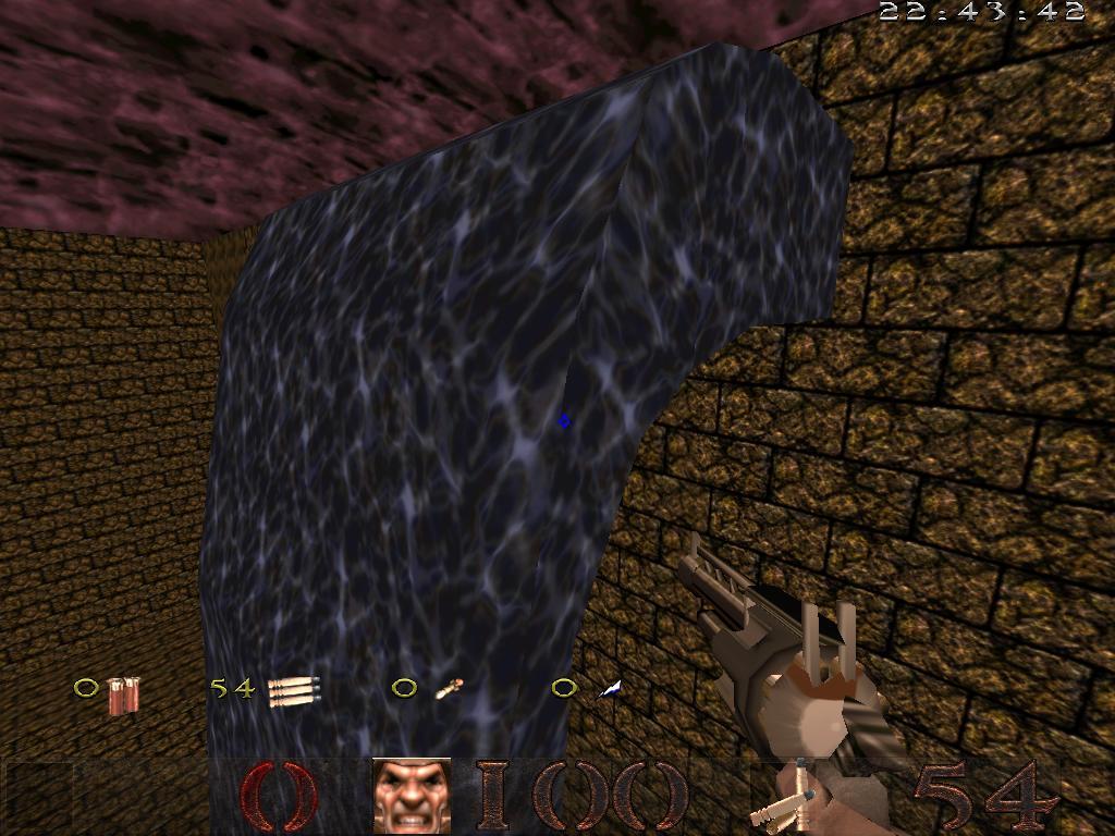 а вот номальная вода - Quake