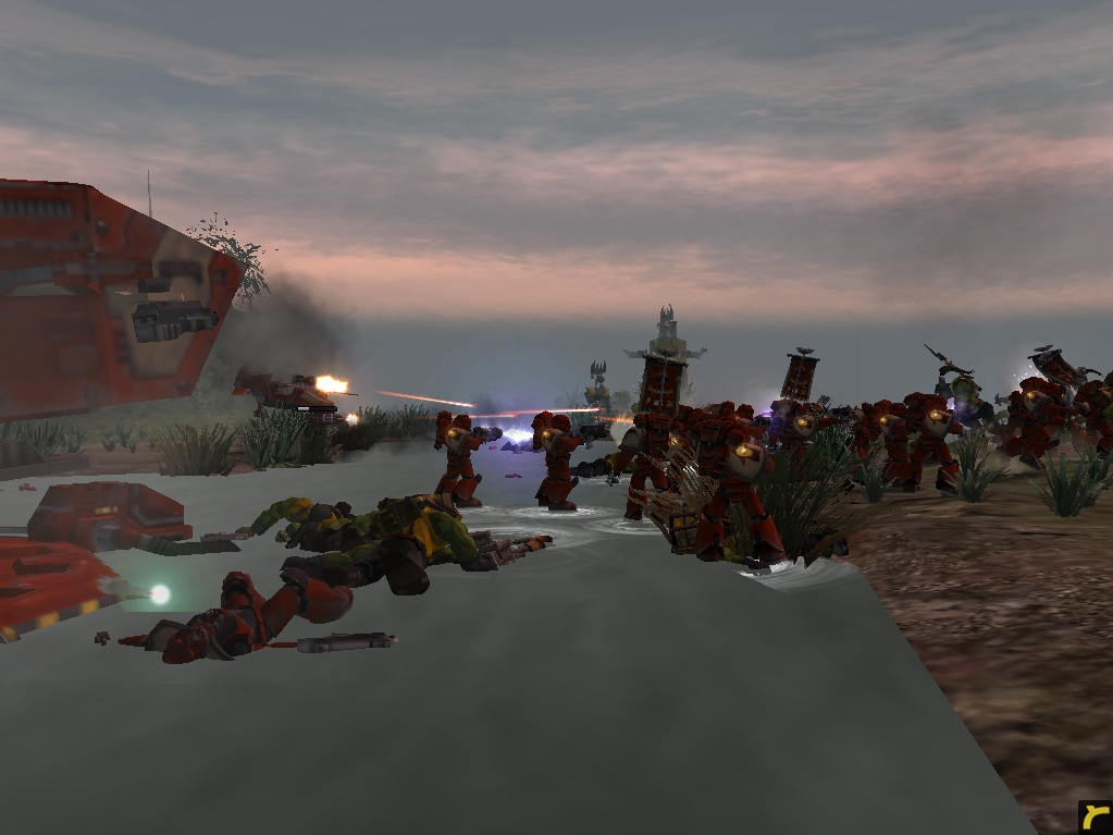relic00740.jpg - Warhammer 40.000: Dawn of War космодесант хаоса, орки