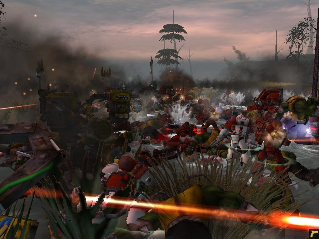 relic00744.jpg - Warhammer 40.000: Dawn of War космодесант хаоса, орки