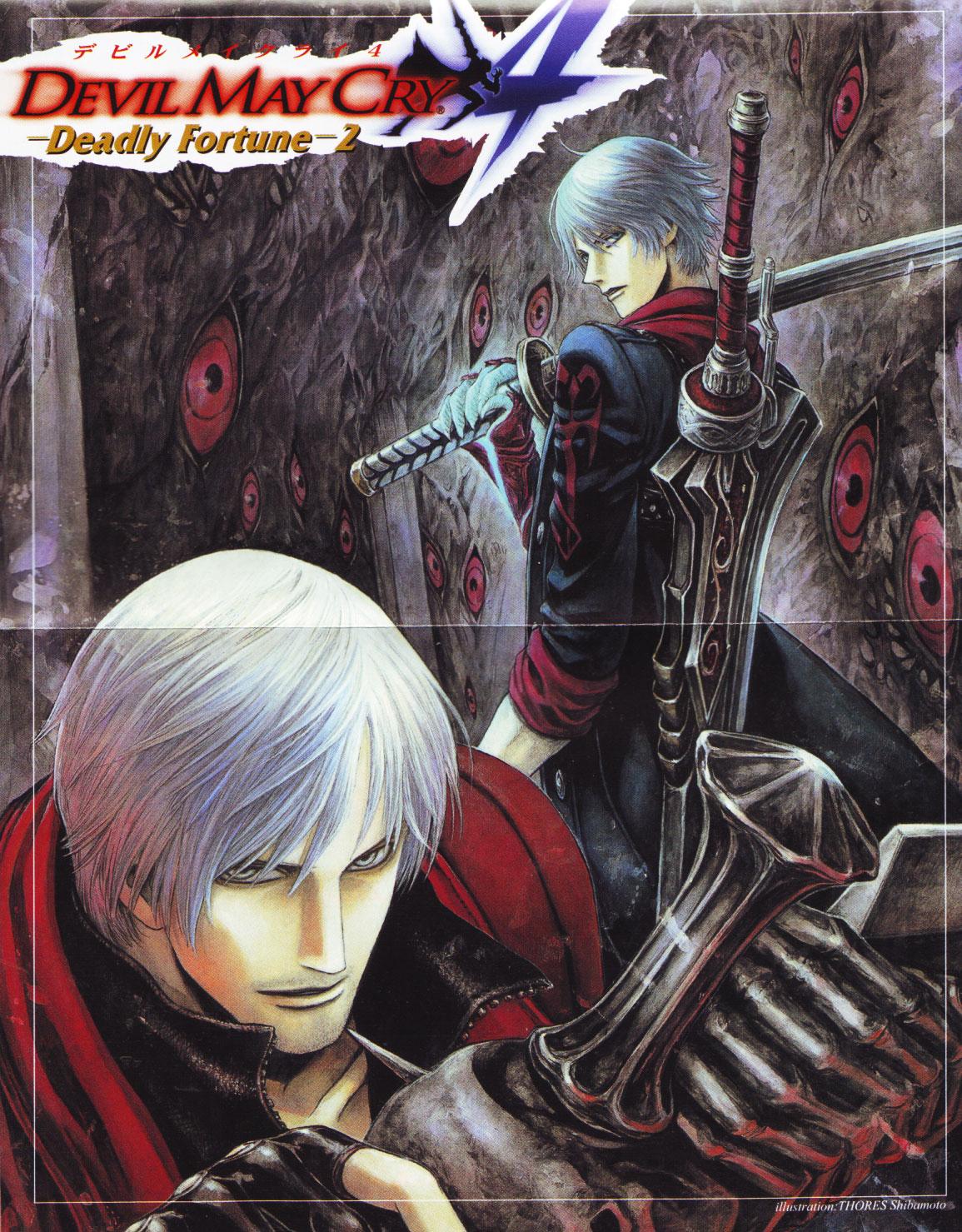 Обои the dark slayer, the son of sparda, демоны, sparda, gilver, nelo angelo, nelo angelo. Игры foto 19