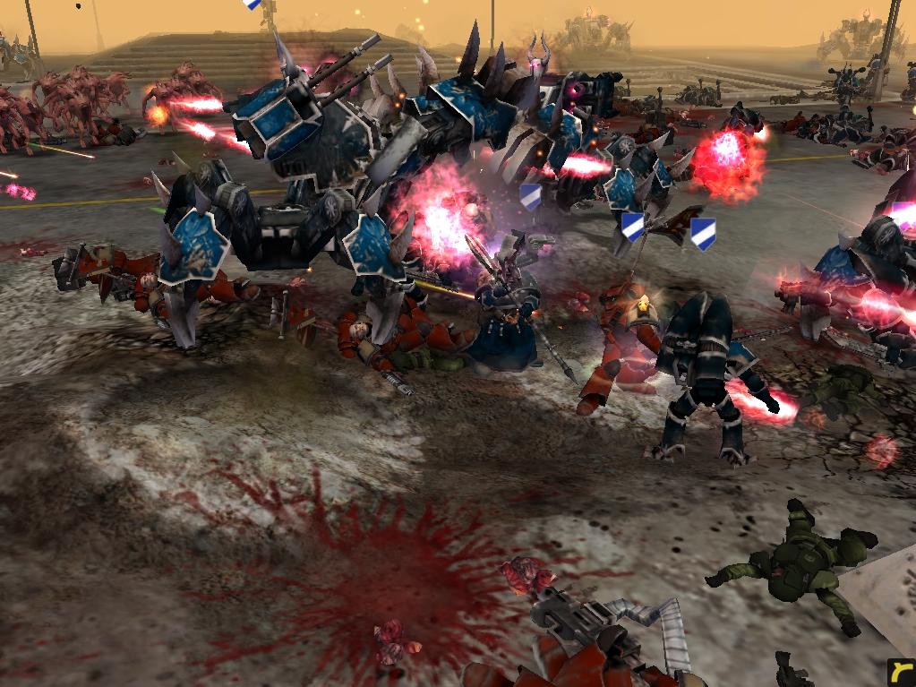 relic00771.jpg - Warhammer 40.000: Dawn of War имперская гвардия, космодесант хаоса