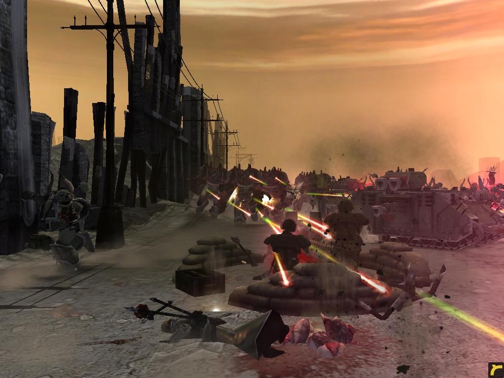 relic00777.jpg - Warhammer 40.000: Dawn of War имперская гвардия, космодесант хаоса