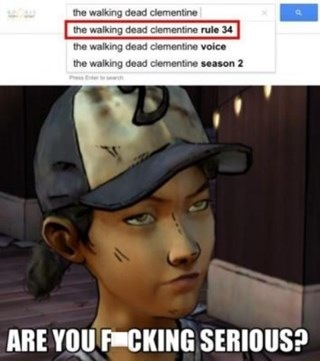 Rule 34 Clementine