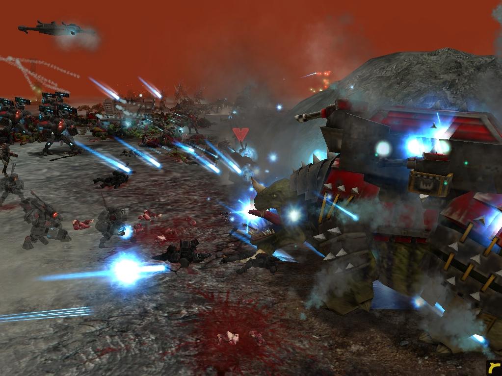relic00799.jpg - Warhammer 40.000: Dawn of War tau, орки