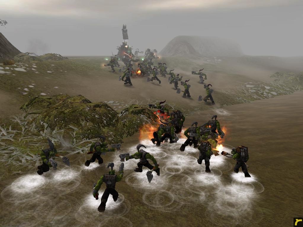 relic00857.jpg - Warhammer 40.000: Dawn of War орки