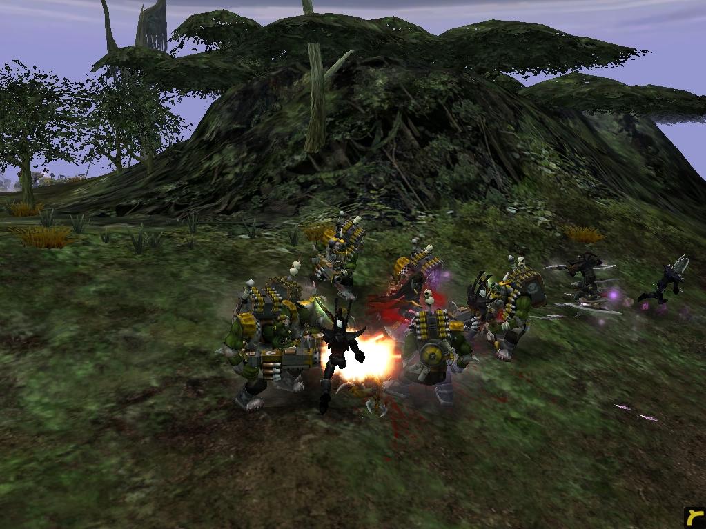 relic00904.jpg - Warhammer 40.000: Dawn of War dark eldar, орки