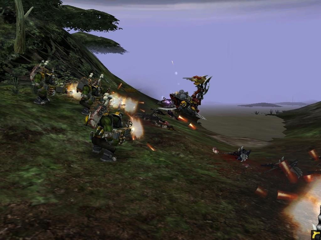 relic00906.jpg - Warhammer 40.000: Dawn of War dark eldar, орки