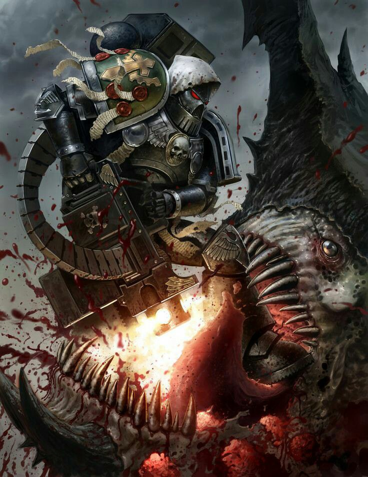 Z9DJ-EcMxww.jpg - Warhammer 40.000: Dawn of War 2 Арт