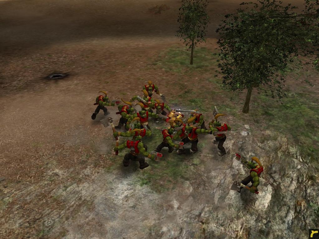 relic01017.jpg - Warhammer 40.000: Dawn of War орки