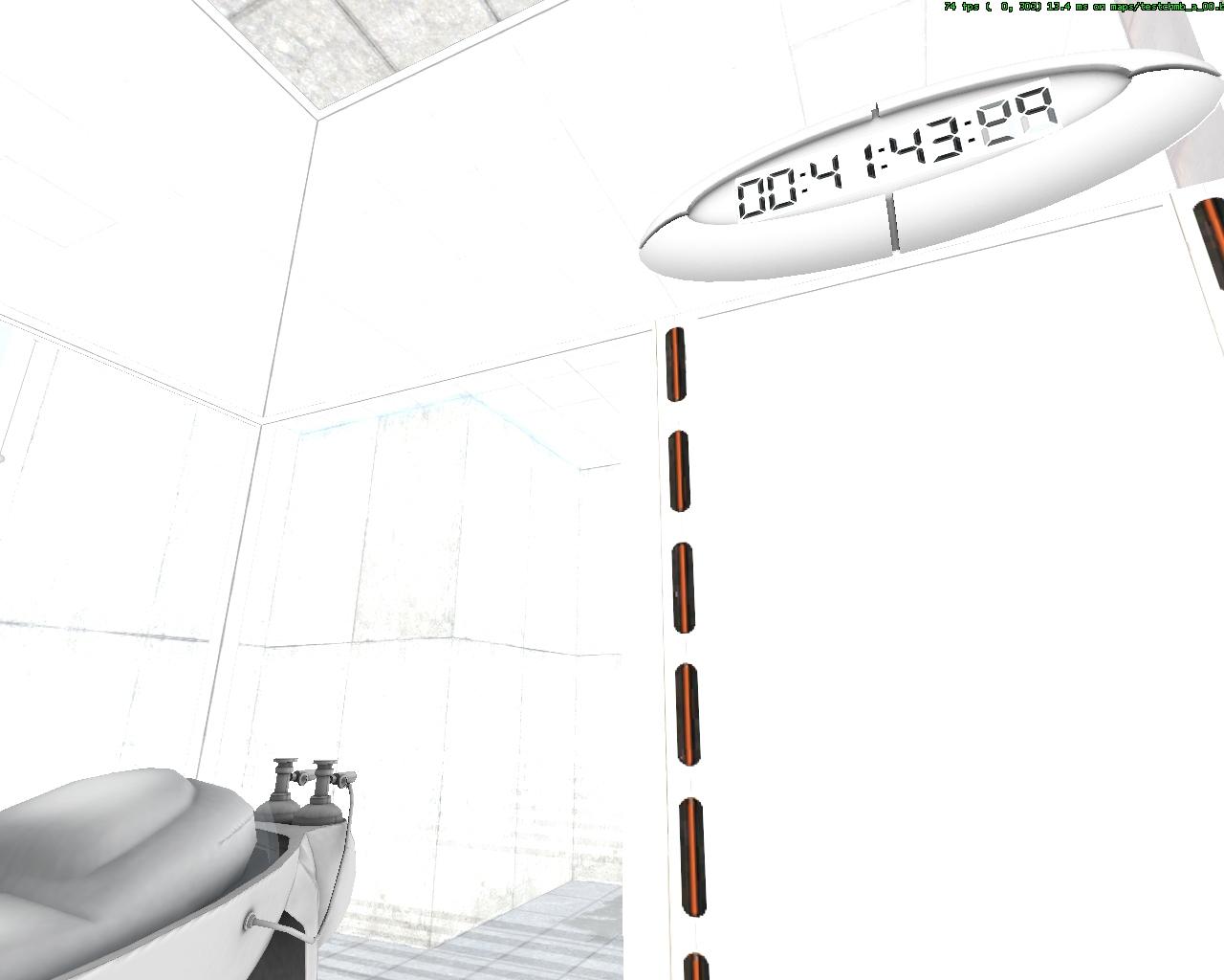 mat_fullbright 1 - Portal mat_fullbright 1, Portal 2006, Portal Beta, testchmb_a_00