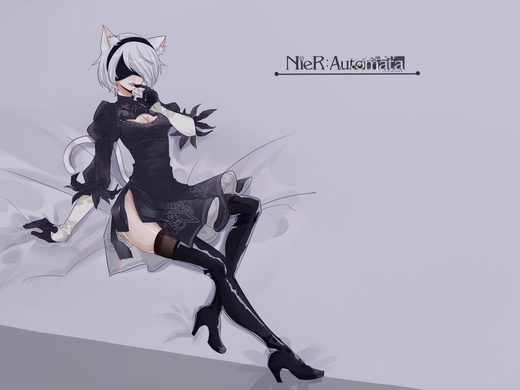 NieR-Automata-Nier-(series)-Игры-2B(YoRHa)-3744431.png - NieR: Automata