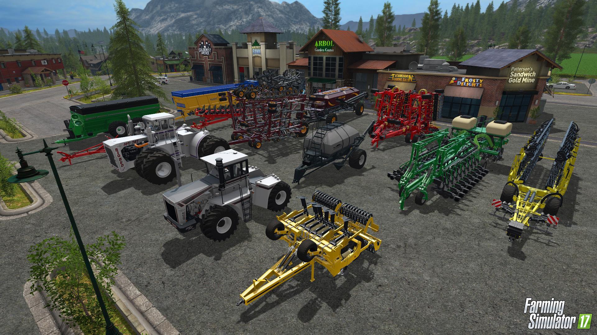 Новое Big Bud DLC для игры Farming Simulator 17 - Farming Simulator 17 Big Bud DLC for Farming Simulator 17