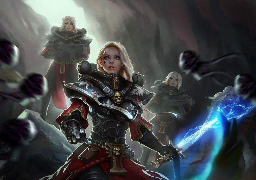 UUxPDsO8CGY.jpg - Warhammer 40.000: Dawn of War 2 Inquizitor, Арт