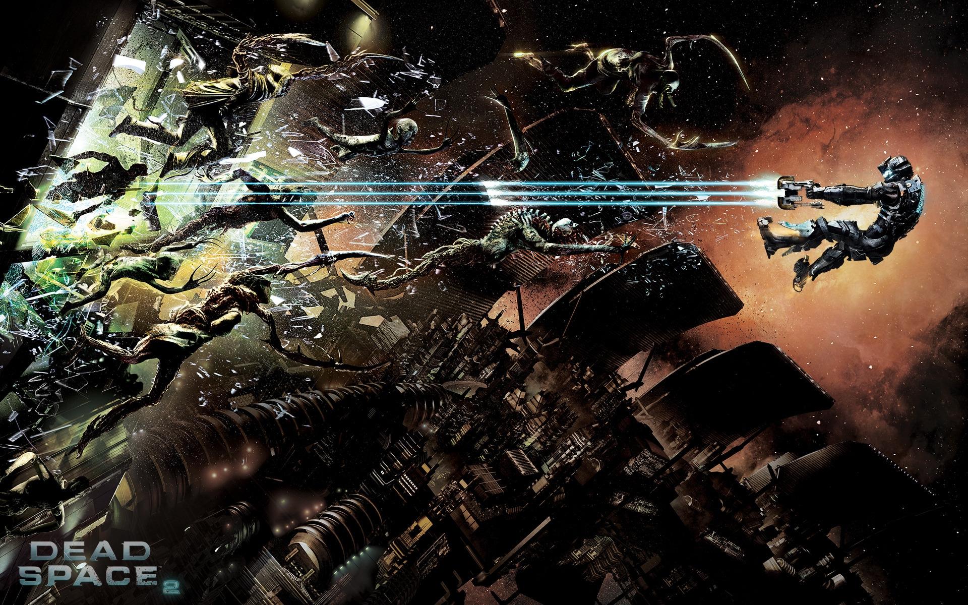 космос - Dead Space 2 Айзек, Некроморф