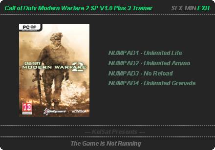 скачать трейнер для Modern Warfare 2 - фото 4