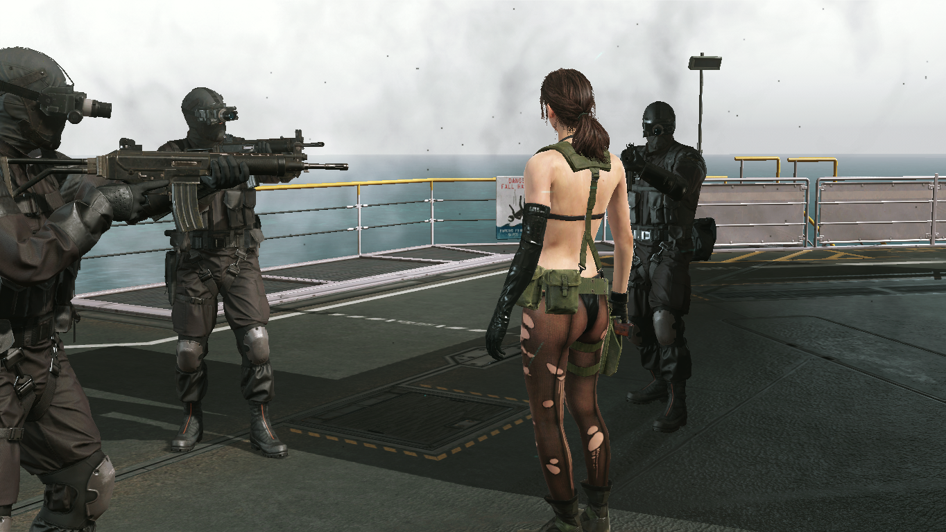 D-Dog - Metal Gear Solid 5: The Phantom Pain big boss, d dog, dd, биг босс, молчунья, пес
