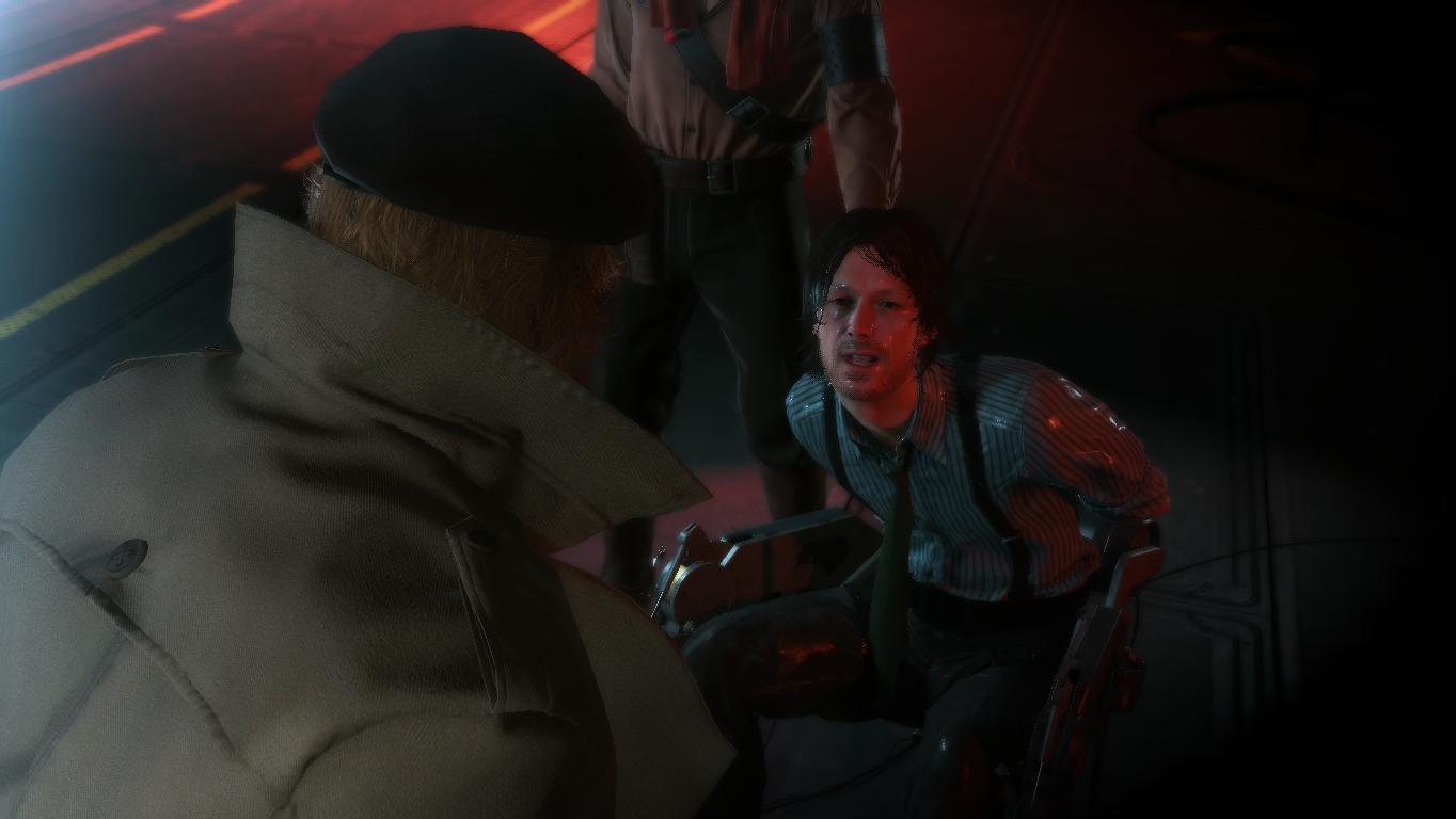 DD - Metal Gear Solid 5: The Phantom Pain big boss, d dog, DD, биг босс, пес