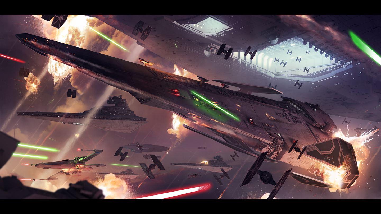 Звёздный разрушитель - Star Wars: Battlefront 2 (2017) Арт