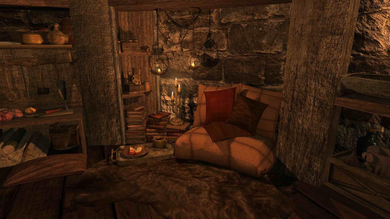 Мой домик в Скайриме - Elder Scrolls 5: Skyrim, the дома