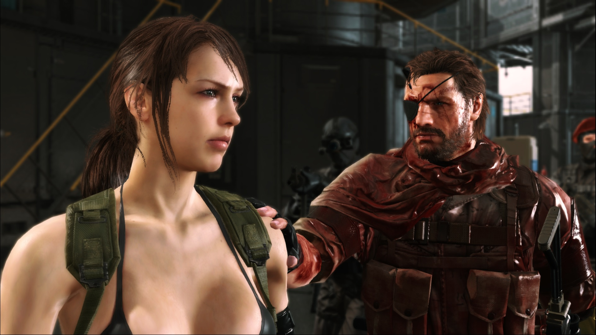 Кореш - Metal Gear Solid 5: The Phantom Pain мгс, снейк