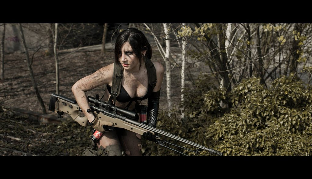 quiet_metal_gear_solid_v_by_lucyrose3-d7eyacs.jpg - Metal Gear Solid 5: The Phantom Pain quiet, косплей, молчунья