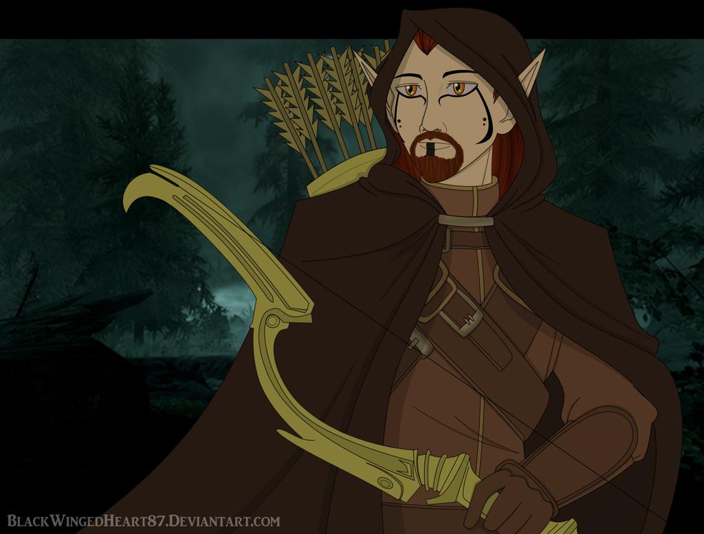 dragonborn_by_blackwingedheart87-d6pdypj.png - Elder Scrolls 5: Skyrim, the