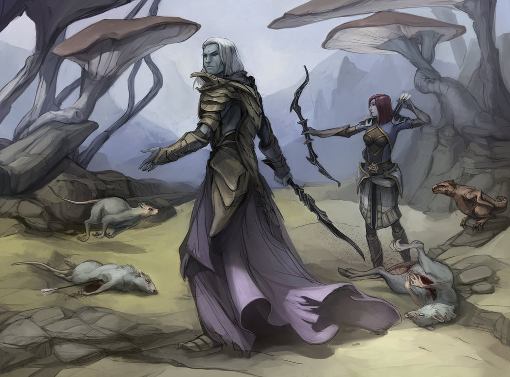 teso_commision_by_shagan_fury-d8n30ey.jpg - Elder Scrolls 5: Skyrim, the