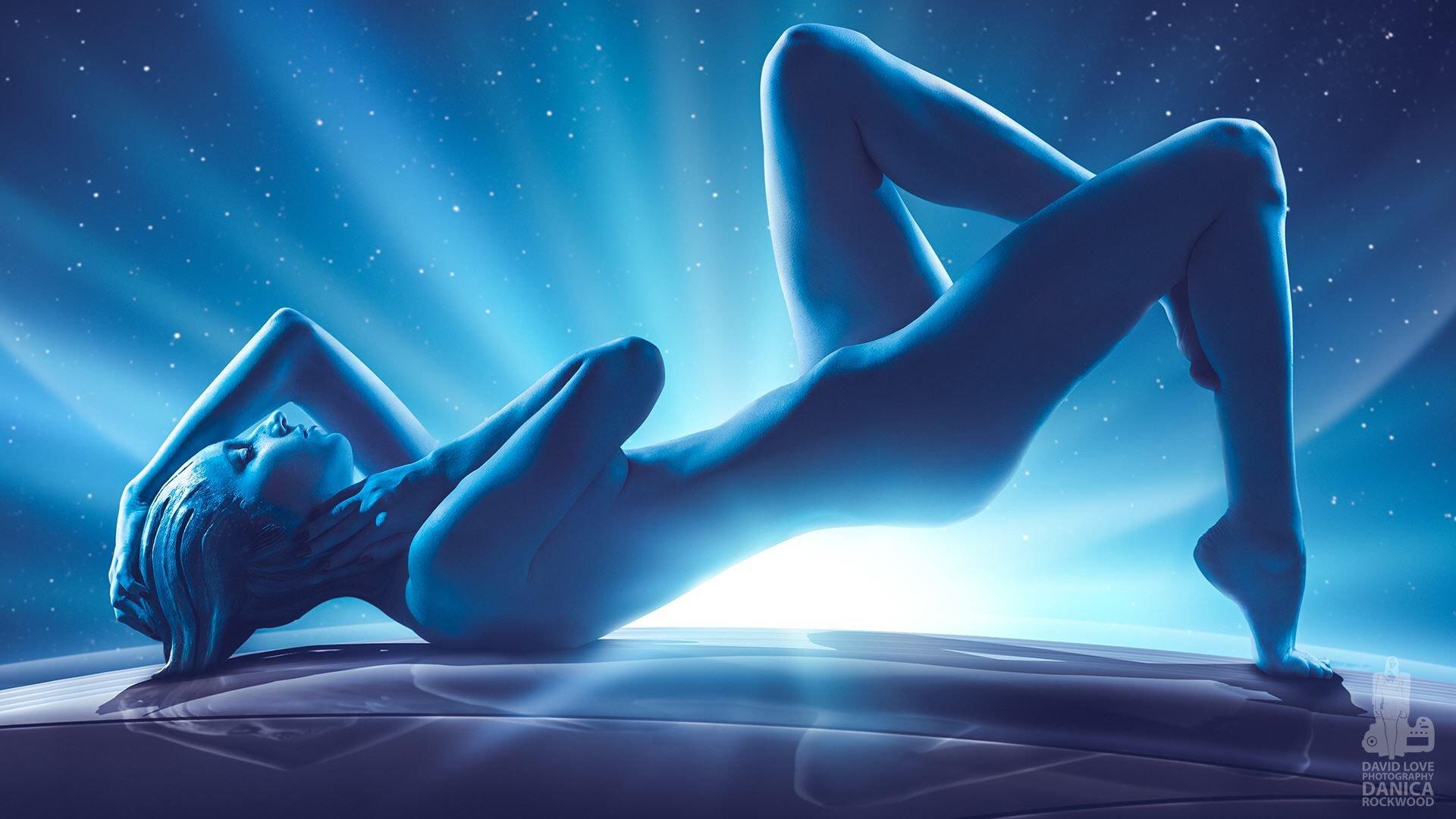 Mass Effect Andromeda - синяя - Mass Effect: Andromeda