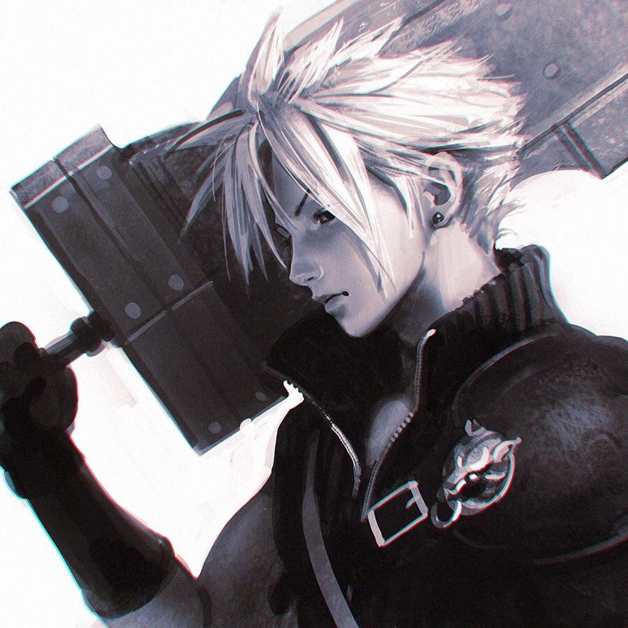 tumblr_o9lak54Hev1qla6e4o4_1280.jpg - Final Fantasy 7 арт, фанарт