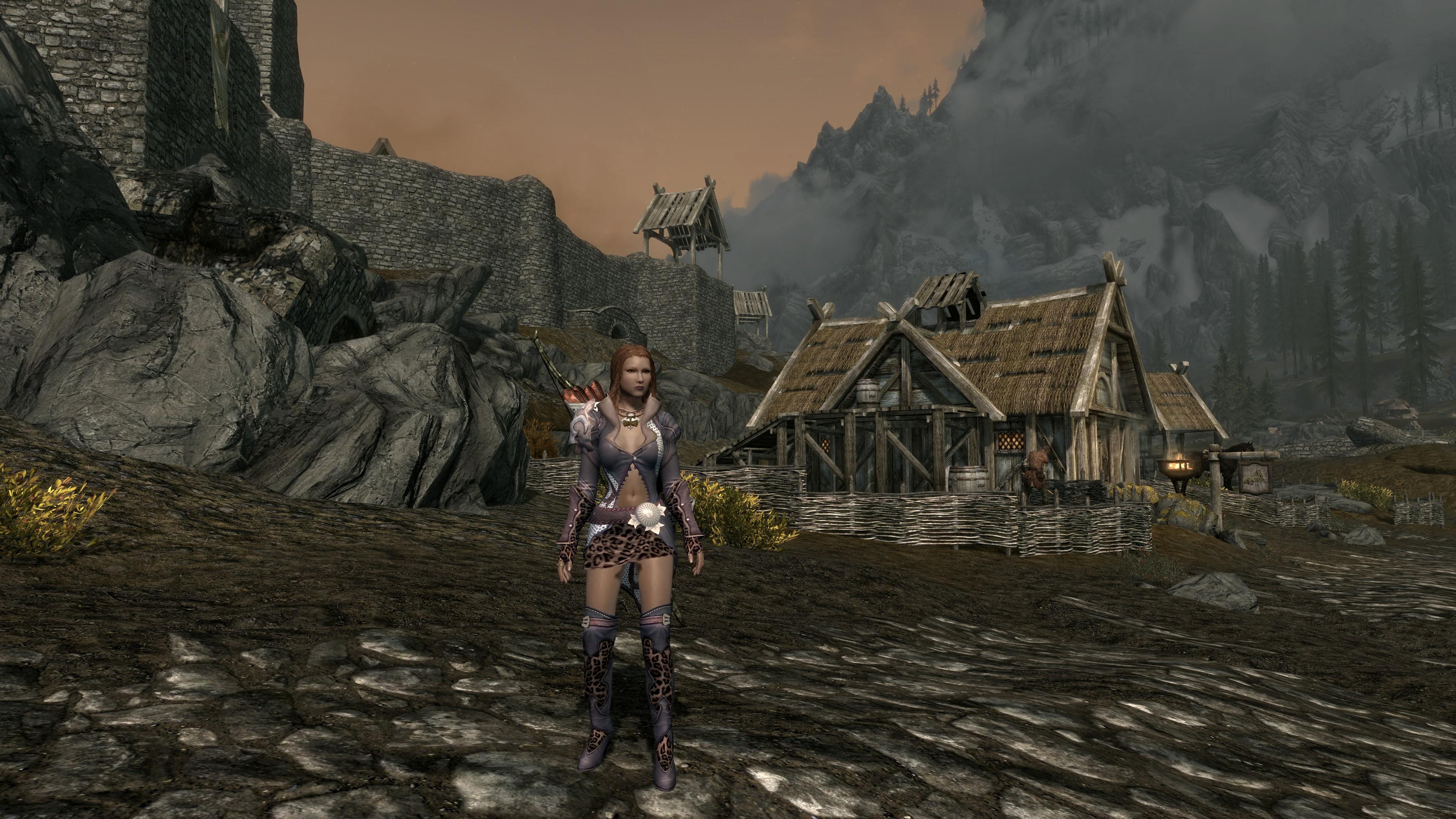 The Elder Scrolls V: Skyrim скриншоты из игры в 4к - Elder Scrolls 5: Skyrim, the 4K, Мод