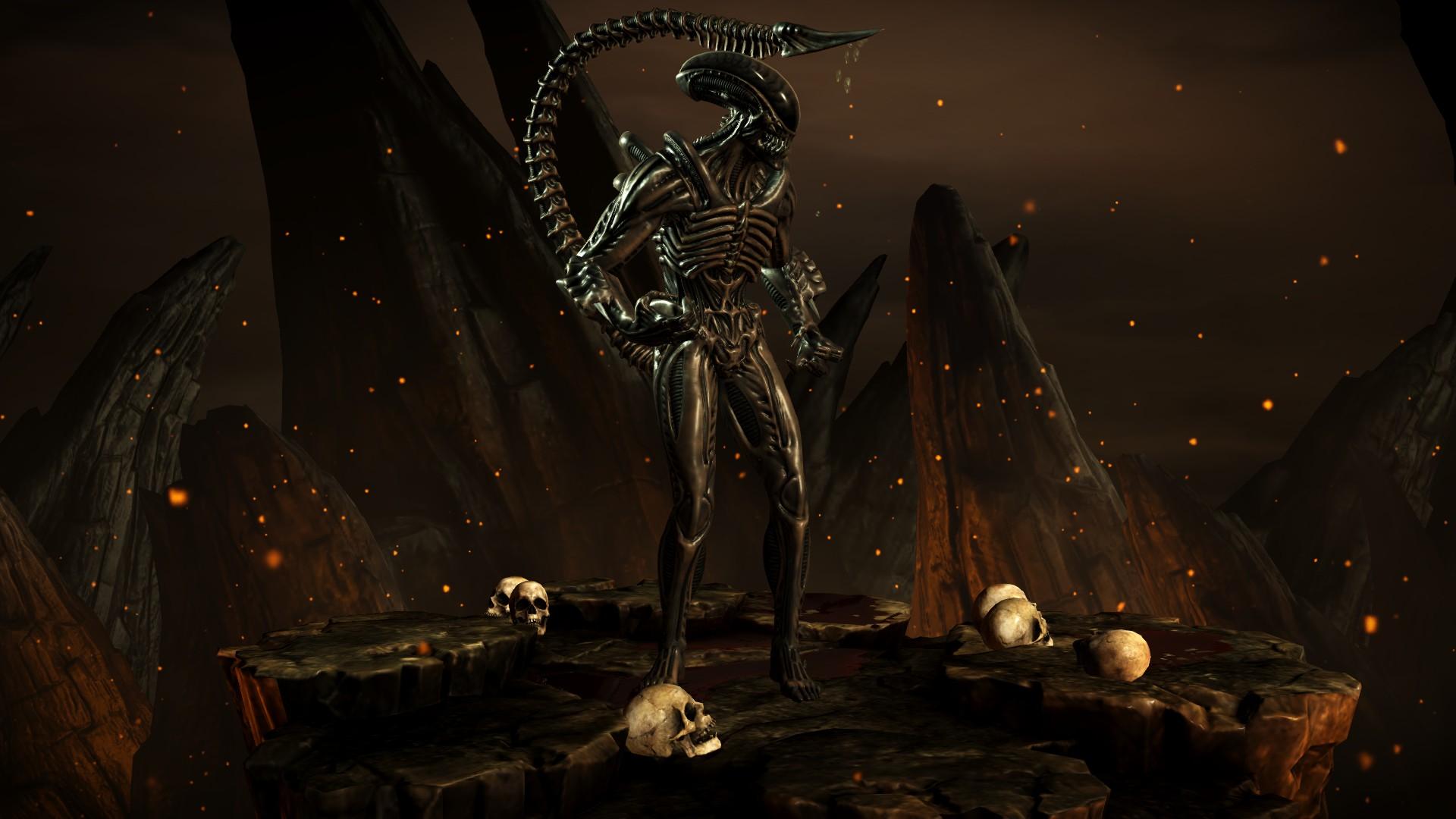 Чужой (Стиль: Кислотник) - Mortal Kombat X Чужой