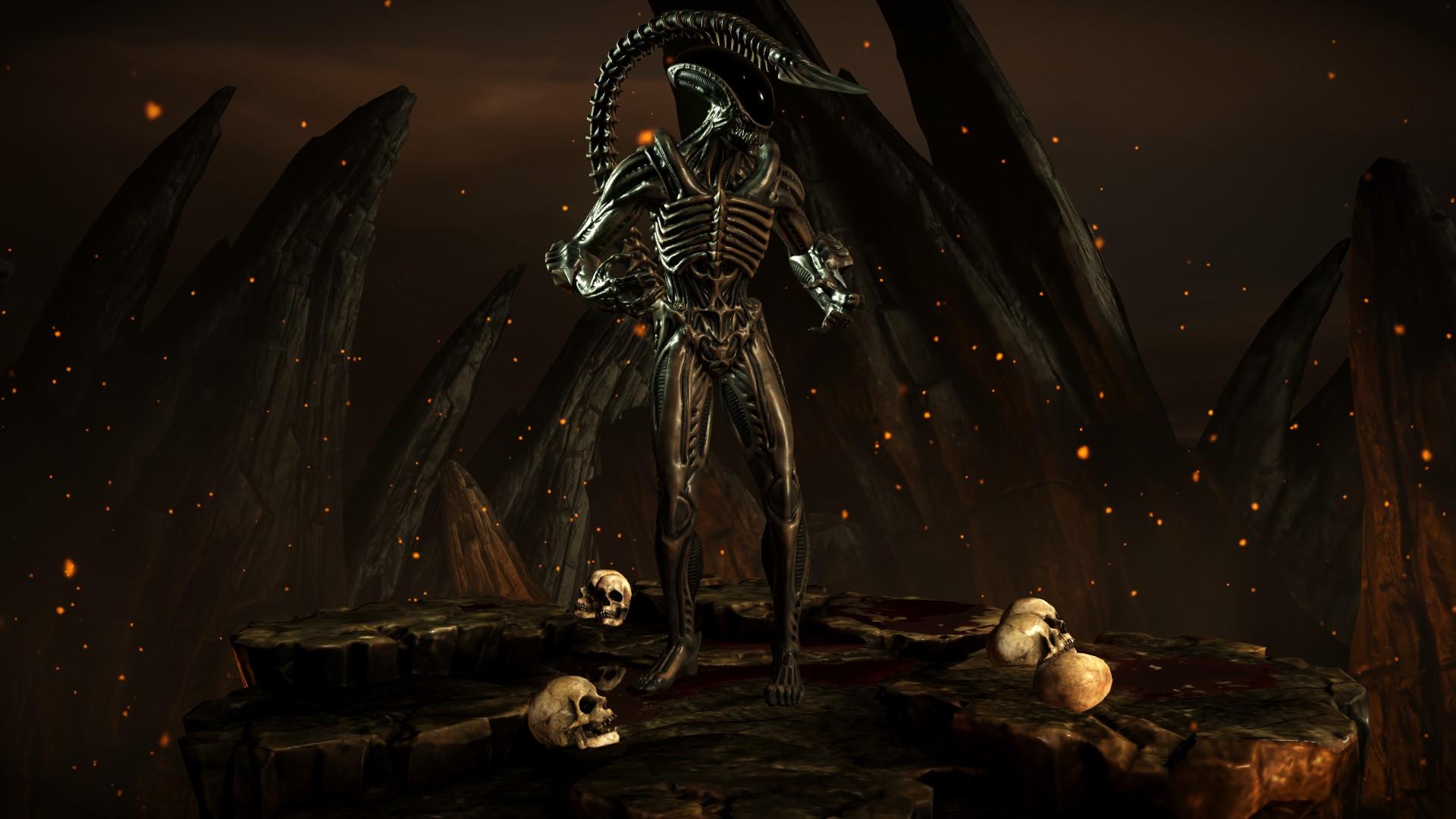 Чужой - Mortal Kombat X Чужой
