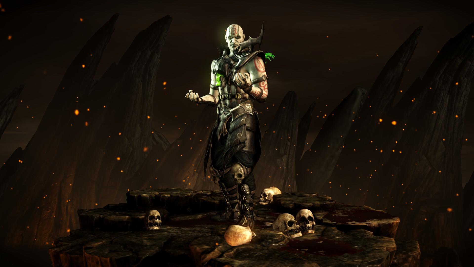 Куан Чи (Стиль: Чернокнижник) - Mortal Kombat X Куан Чи