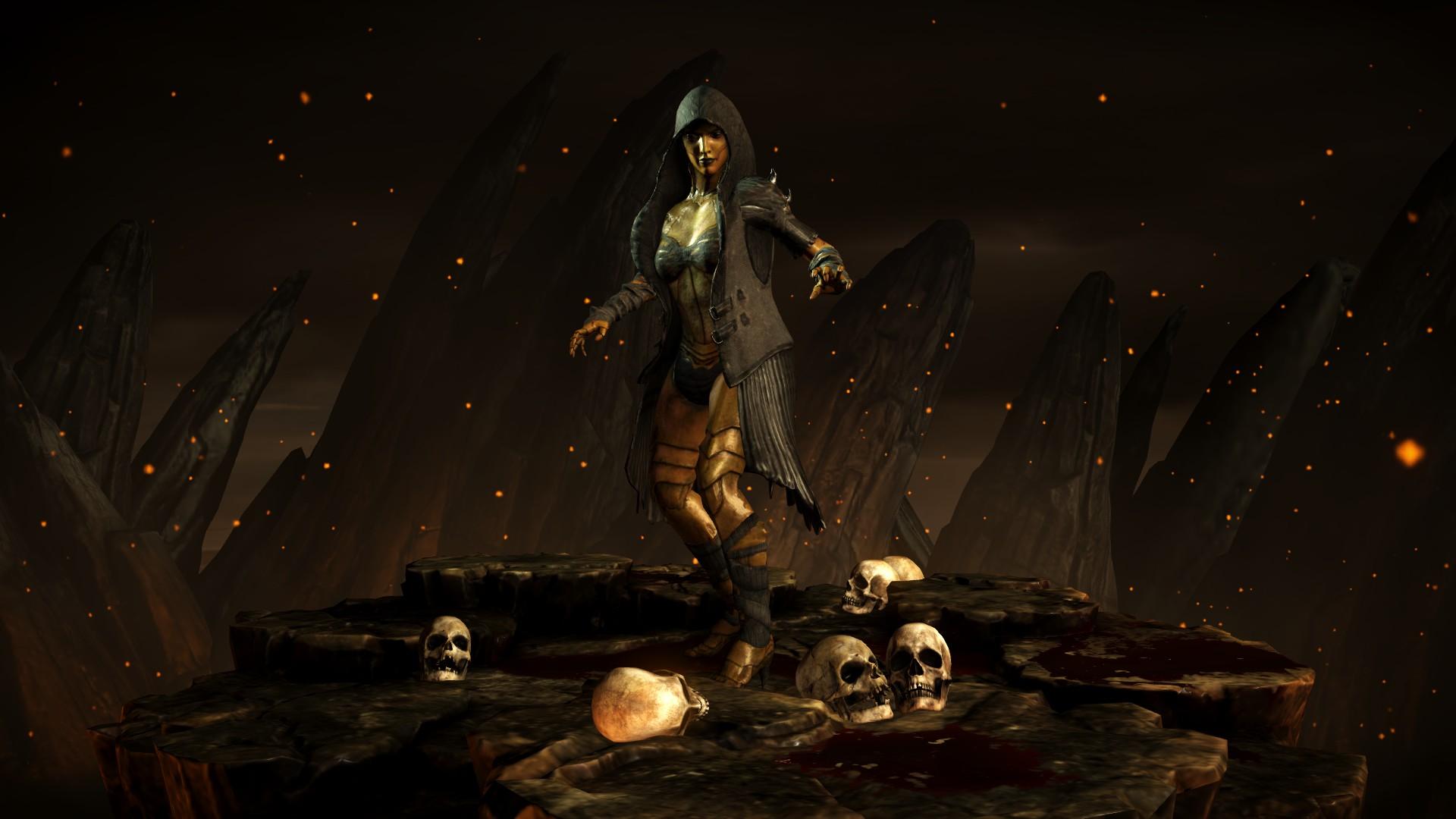 Ди'Вора (Костюм: Королева кайтиннов) - Mortal Kombat X Ди'Вора
