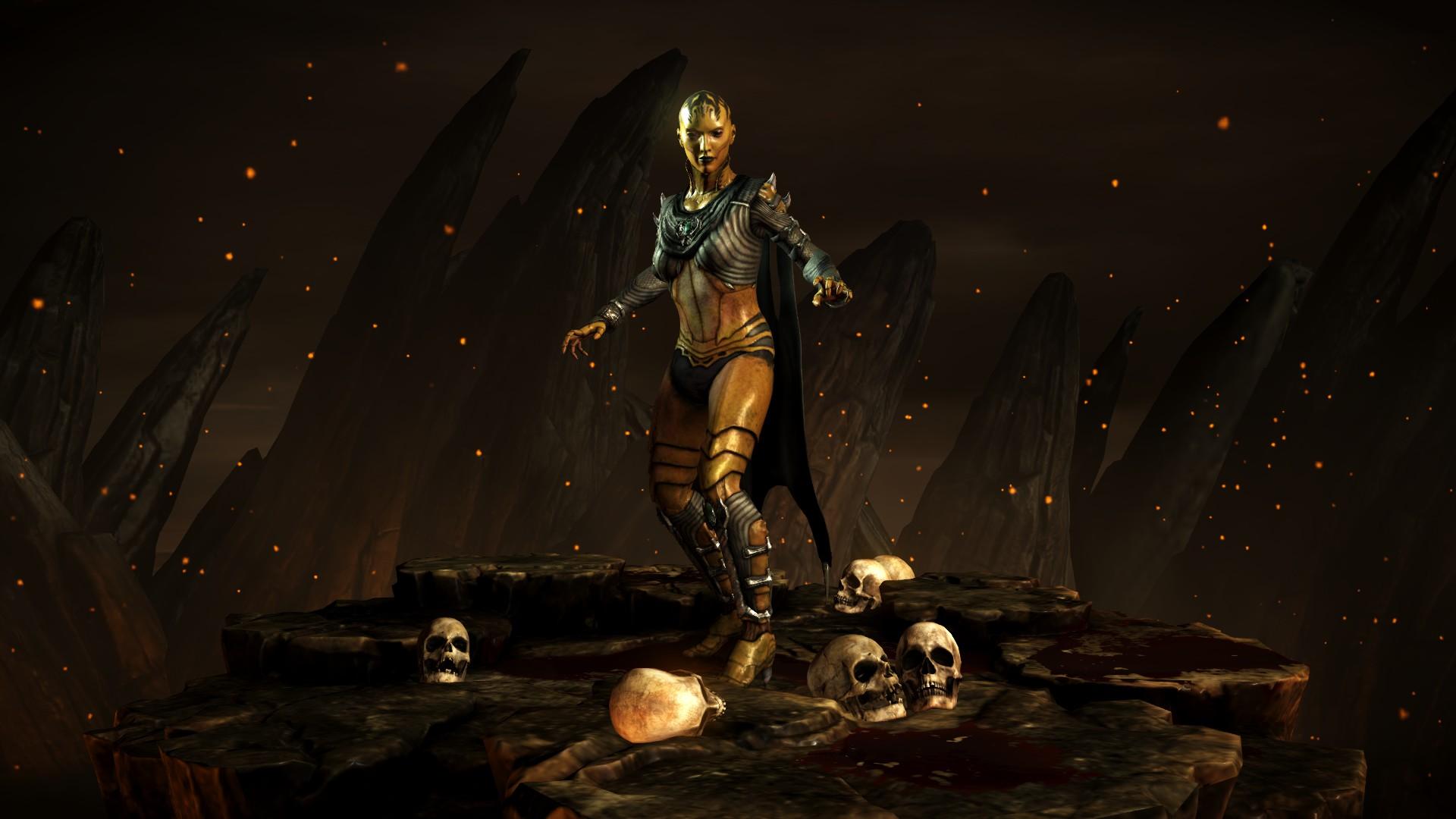 Ди'Вора (Стиль: Мать-героиня) - Mortal Kombat X Ди'Вора