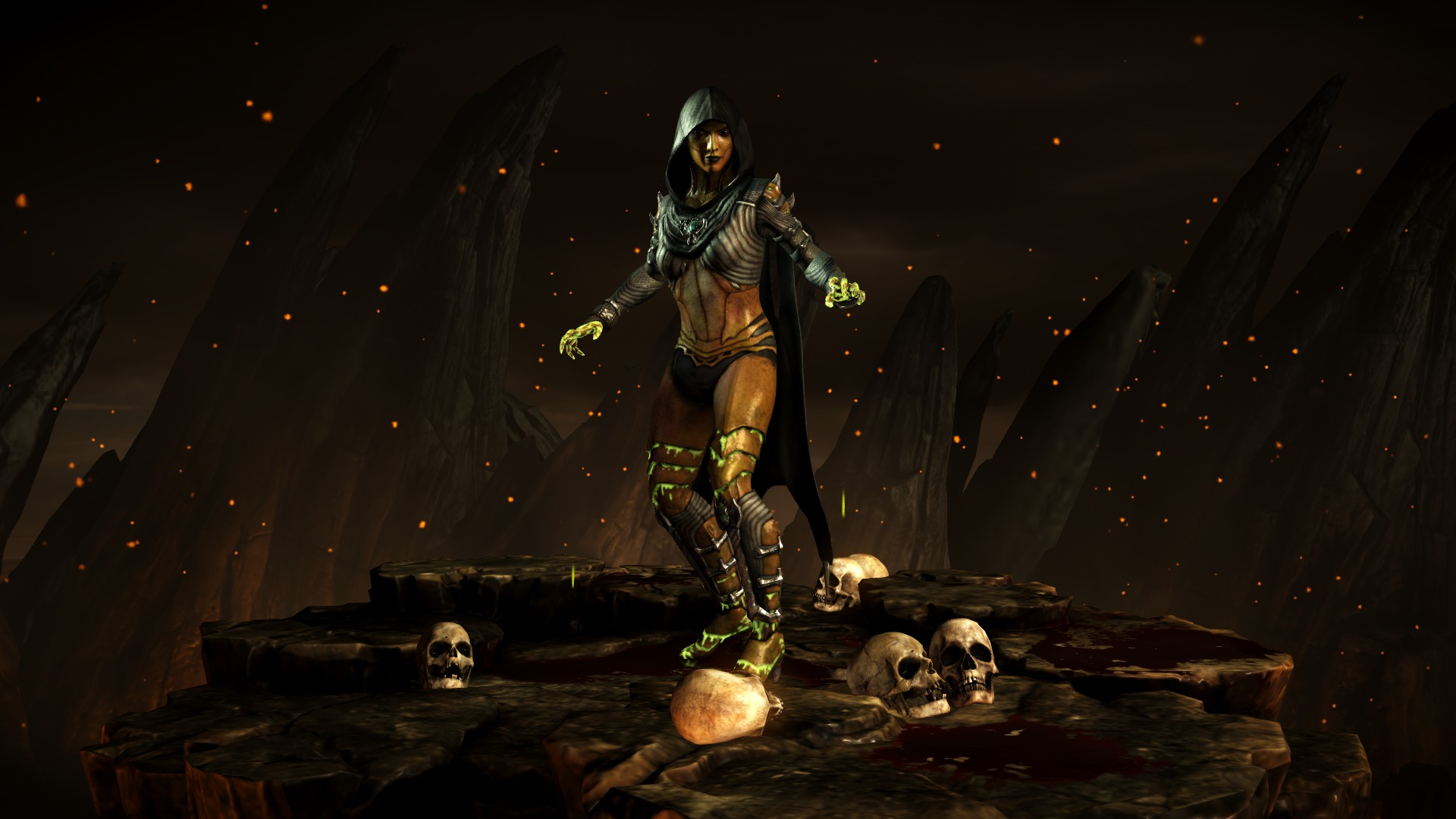Ди'Вора (Стиль: Отрава) - Mortal Kombat X Ди'Вора