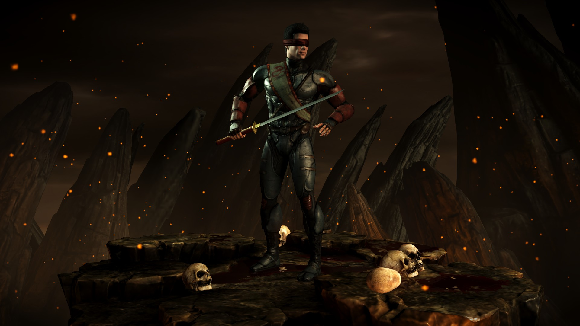 Кенши (Костюм: Турнир) - Mortal Kombat X Кенши
