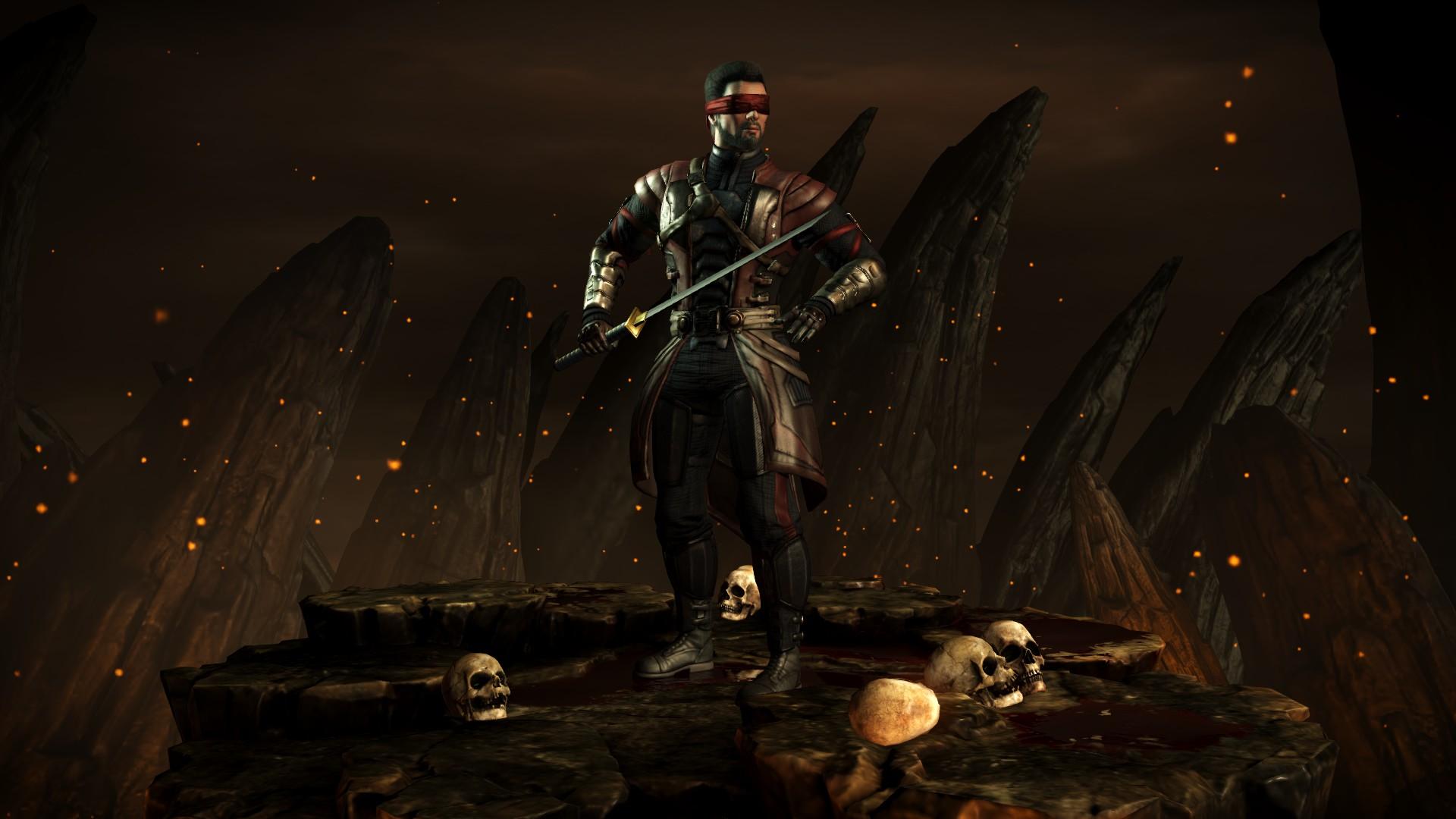 Кенши (Стиль: Баланс) - Mortal Kombat X Кенши
