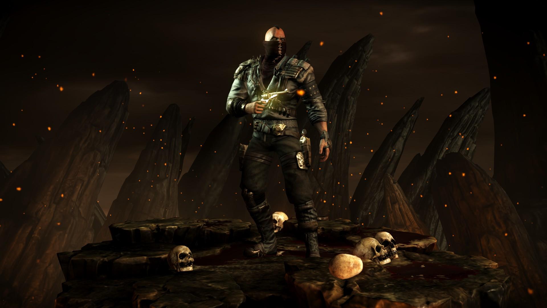 Эррон Блэк (Костюм: Наёмник) - Mortal Kombat X Эррон Блэк