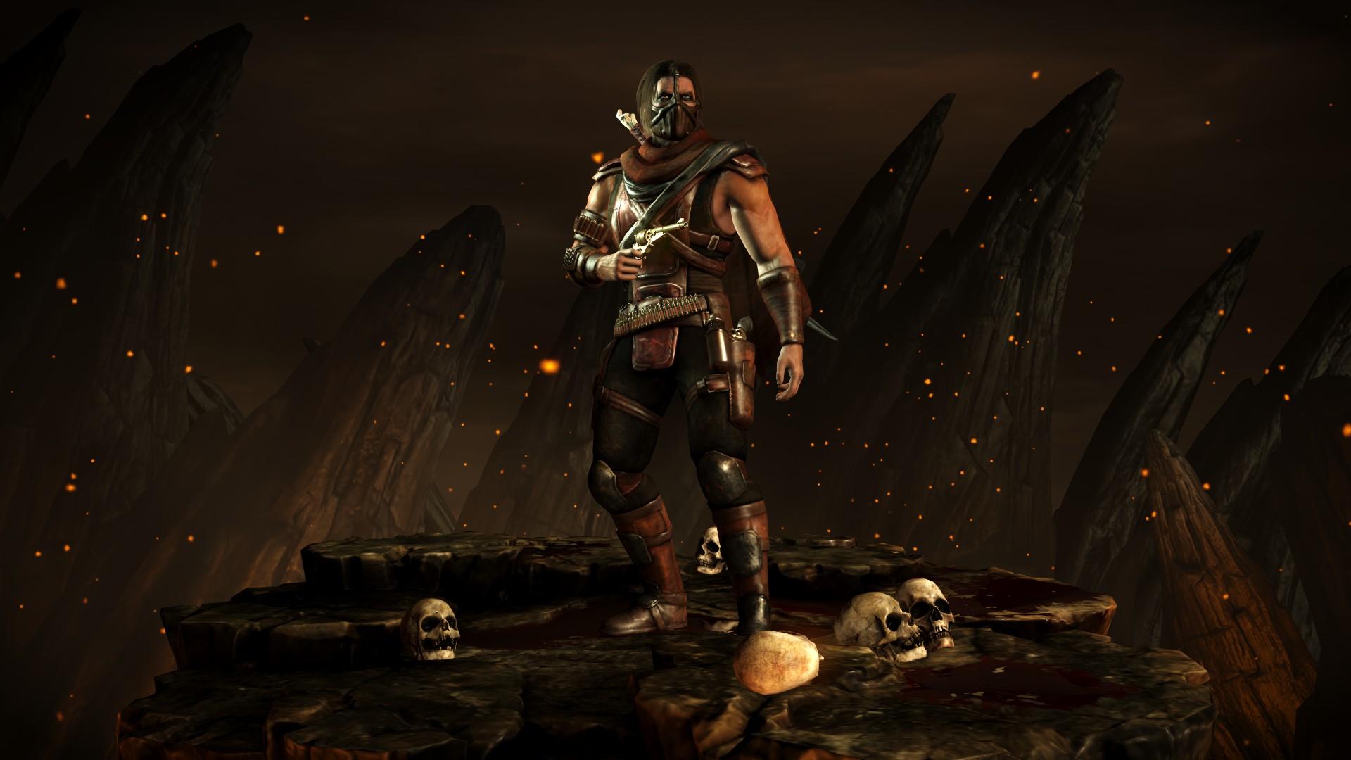Эррон Блэк (Стиль: Преступник) - Mortal Kombat X Эррон Блэк